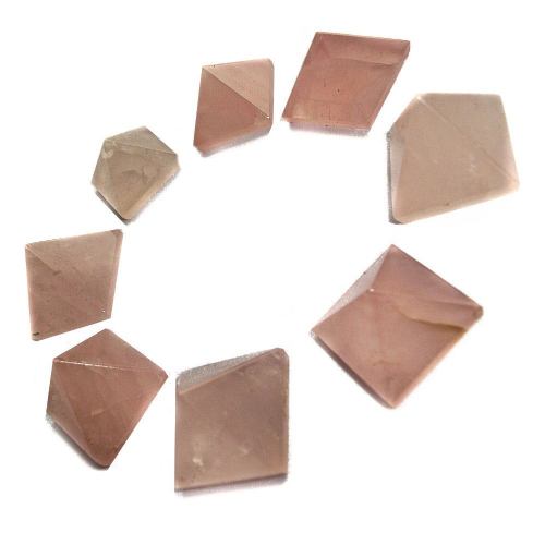 Rose Quartz Gemstone Pyramid